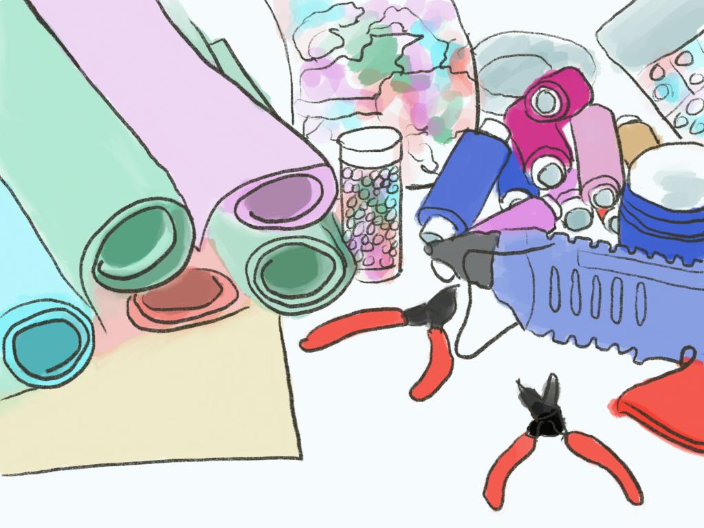 Katta Spiel's drawing
