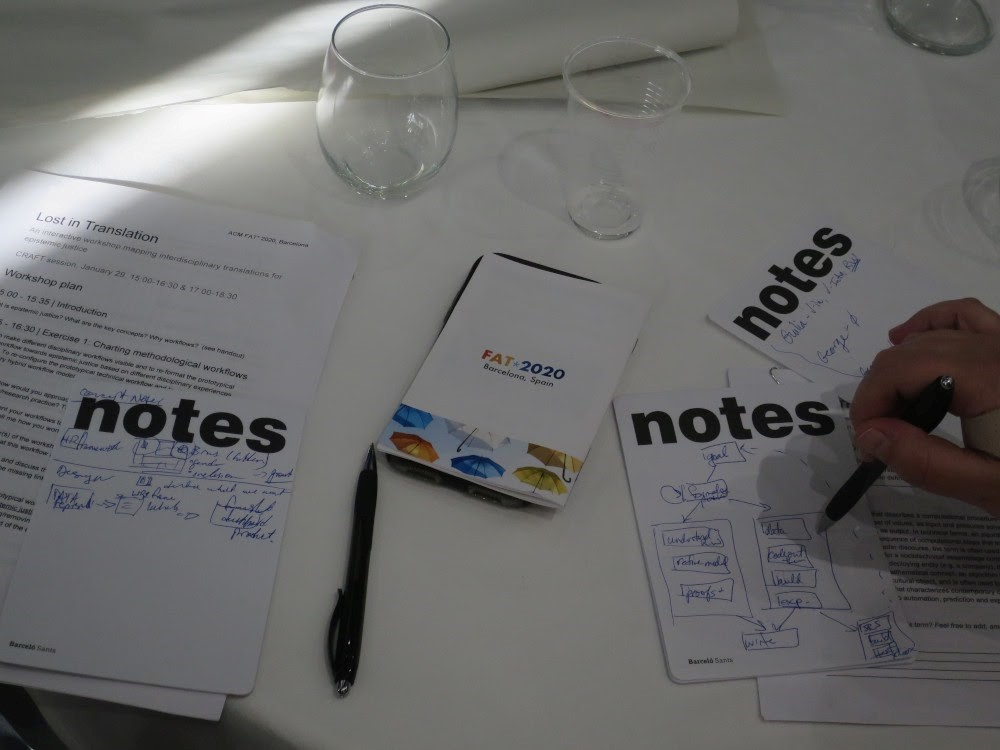 Illustration of note taking